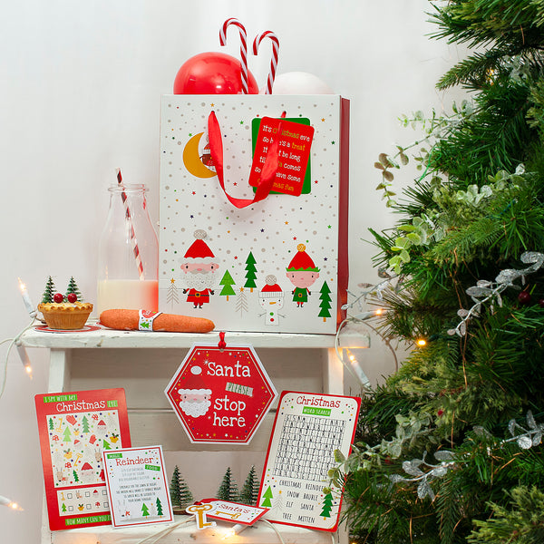 Christmas Eve Activity Pack with Gift Bag
