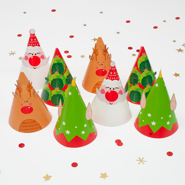 Festive Christmas Party Hats