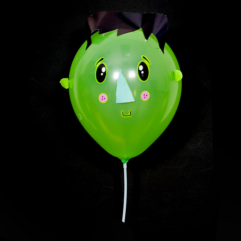 Make Your Own Spook Halloween Balloon Faces