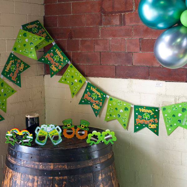St Patrick's Day Flag Bunting