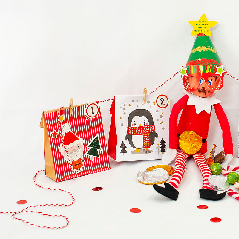 Mini Christmas Elf Toy Accessories Kit