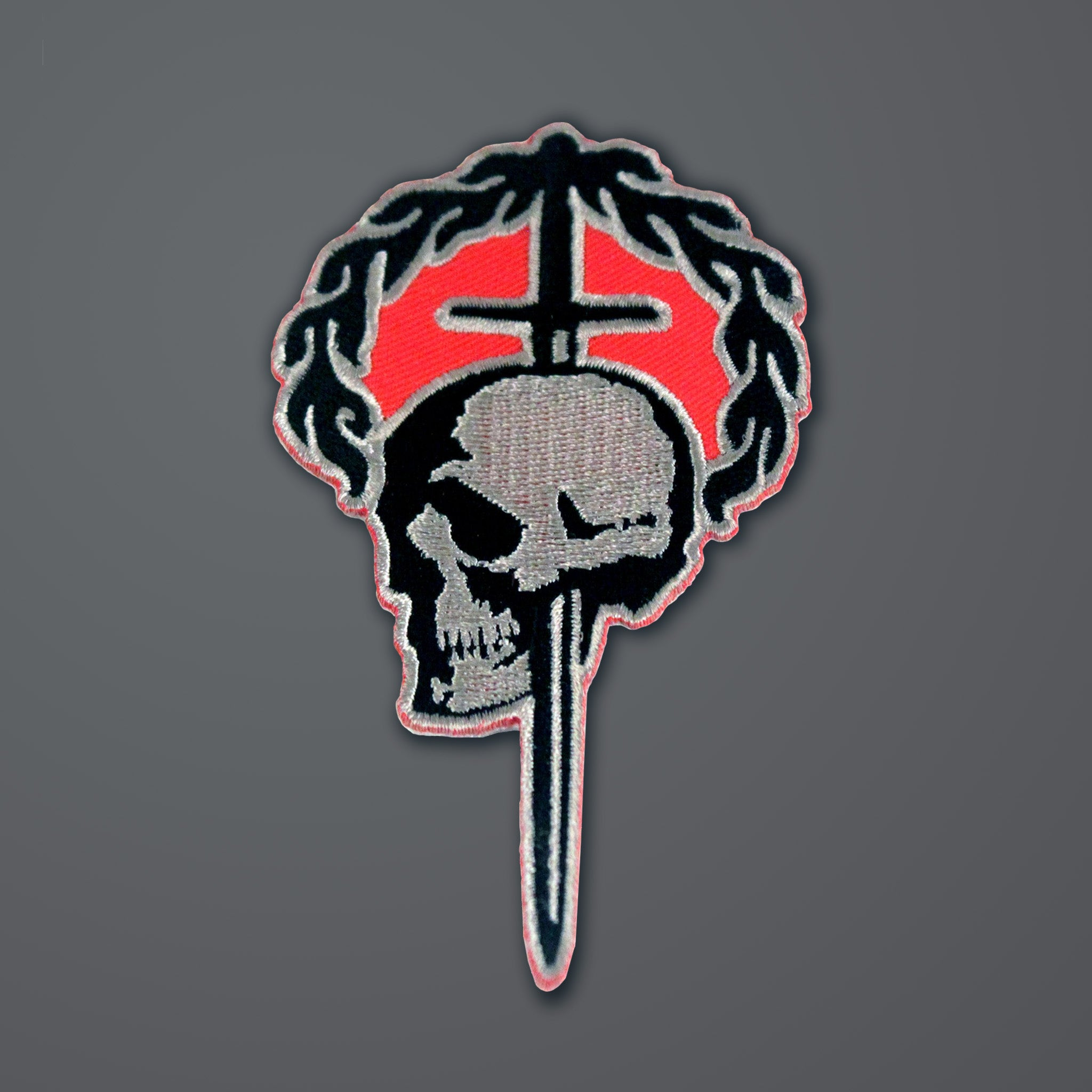 Patch — SNC Skull & Laurel