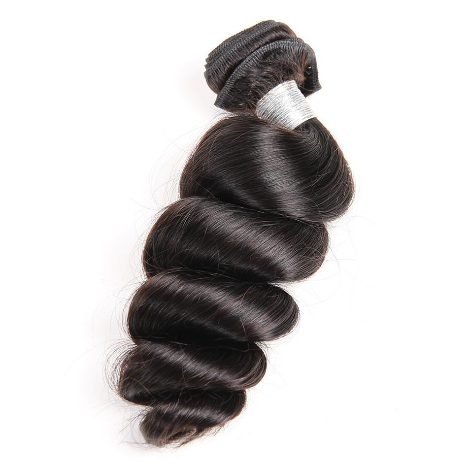 Natural Color 10 28 Inch Hair Weave Bundles Indian Hair 4 Less