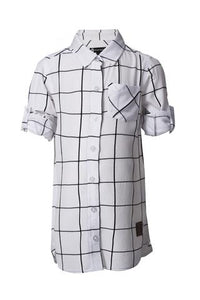 Grid Shirt Dress