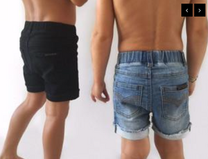 Denim Jeg Shorts