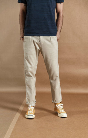 Ankle-length Linen Pants chrynne.com Men's Pants 45.99