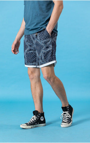 Bandana-Print Shorts chrynne.com Men's Shorts 47.99