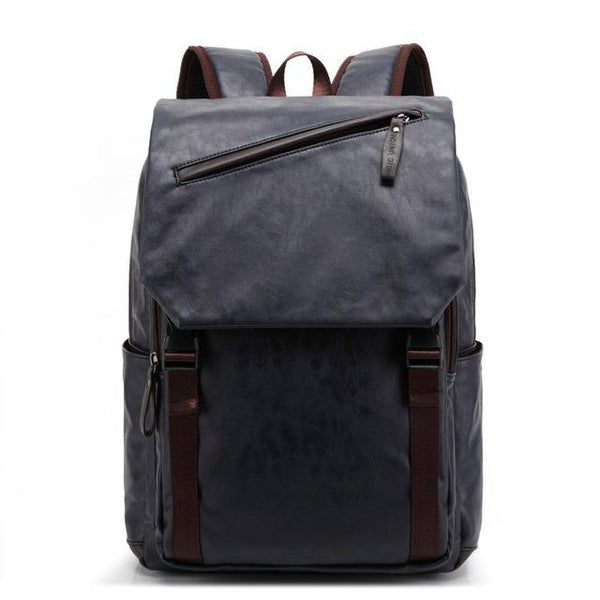 Casual Leather Backpack chrynne.com Men's Bags 65.99
