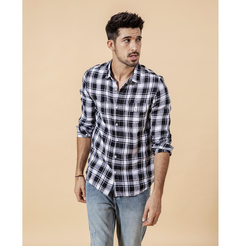 Casual Plaid Shirt chrynne.com Men's Shirts 57.99
