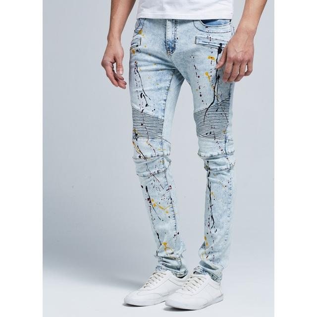 Casual Skinny Jeans chrynne.com Men's Pants 47.99