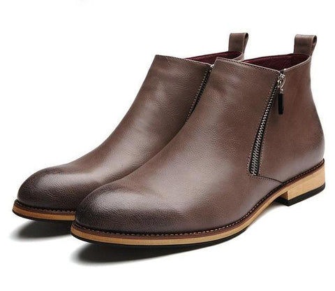 Chelsea Leather Boots chrynne.com Men's Shoes 67.99