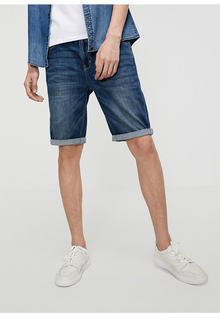Fit Denim Shorts chrynne.com Men's Shorts 28.99