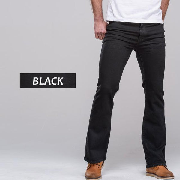 Flared Men's Denim Pants chrynne.com Men's Pants 52.99
