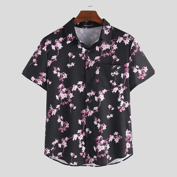 Floral Print Shirt chrynne.com Men's Shirts 22.99