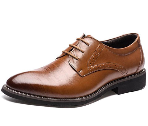 Genuine Leather Oxford Shoes chrynne.com Men's Shoes 45.99