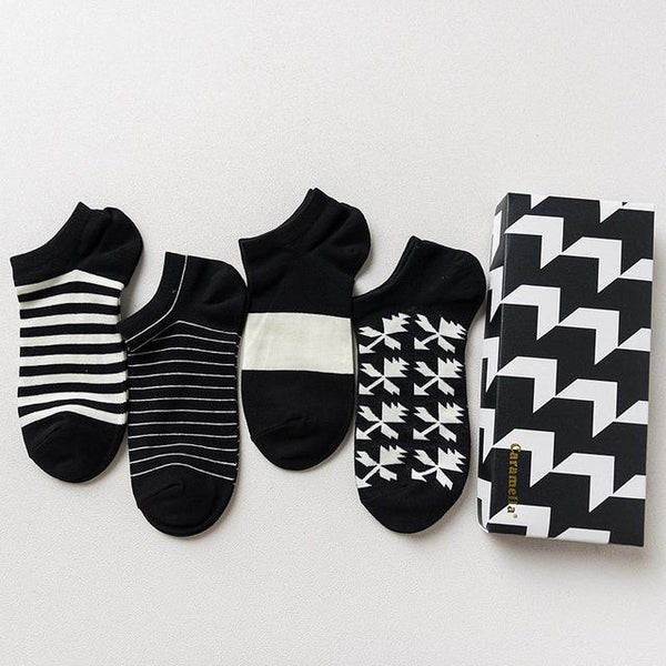 Gift Box Ankle Socks chrynne.com Men's Socks 15.99