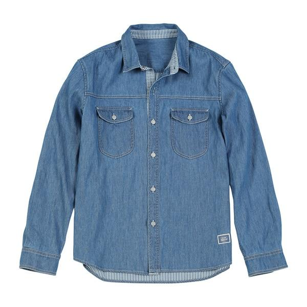Indigo Denim Shirt chrynne.com Men's Shirts 63.99