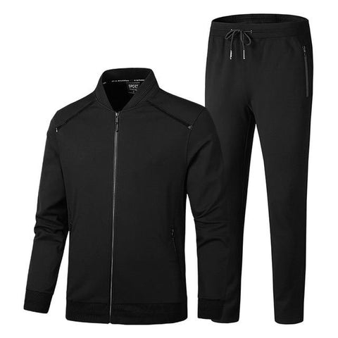 Jacket + Pants Tracksuit chrynne.com Men's Suits 51.99