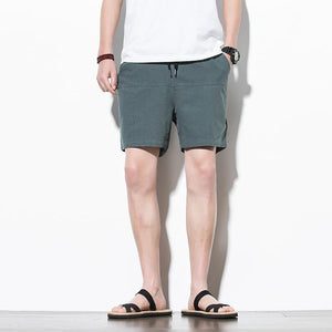 Knee Length Bermuda Shorts chrynne.com Men's Shorts 17.99