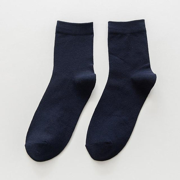 Large 5 Pair Business Socks chrynne.com Men's Socks 19.99