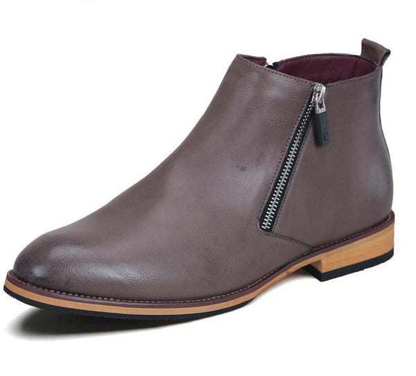Leather Chelsea Boots chrynne.com Men's Shoes 83.99