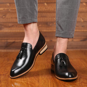 Leather Oxford Shoes chrynne.com Men's Shoes 60.99