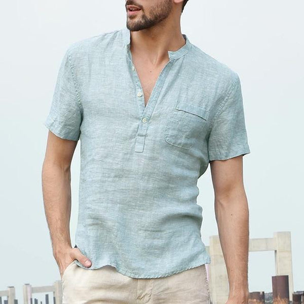 Linen Beach Shirts chrynne.com Men's Shirts 19.99