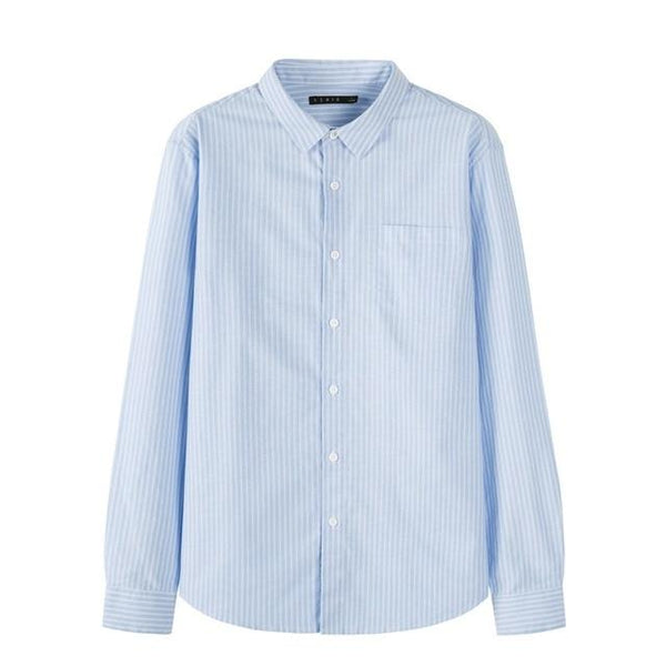 Long Sleeve Cotton Shirt chrynne.com Men's Shirts 28.99
