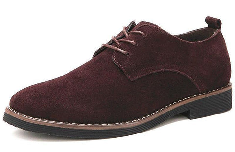 Men's Suede Leather Brogue chrynne.com Men's Shoes 52.99