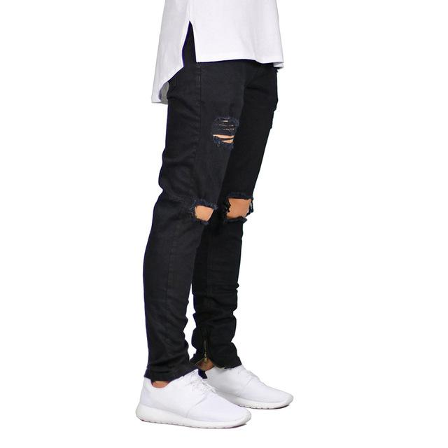 Ripped Skinny Jeans chrynne.com Men's Pants 35.99