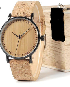Round Wood Gift Watches chrynne.com Men's Accessories 32.99