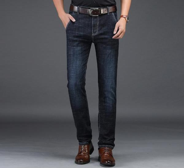 Slim Fit Business Casual Jeans chrynne.com Men's Pants 39.99