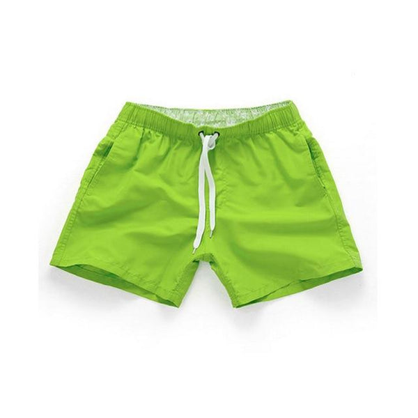 Solid Swim Shorts chrynne.com Men's Shorts 15.99