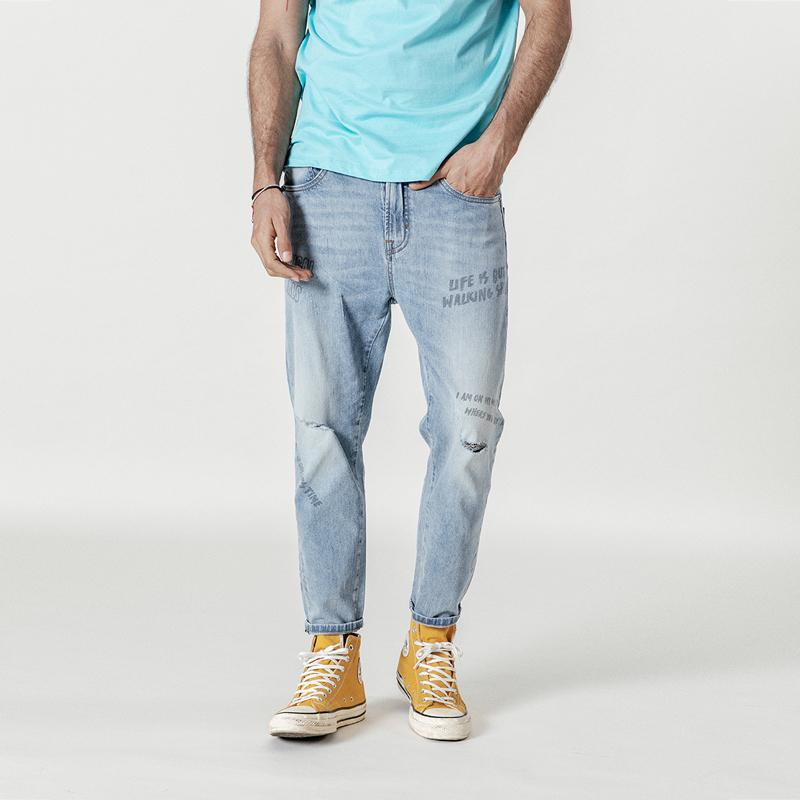 Street Wear Denim chrynne.com Men's Pants 62.99