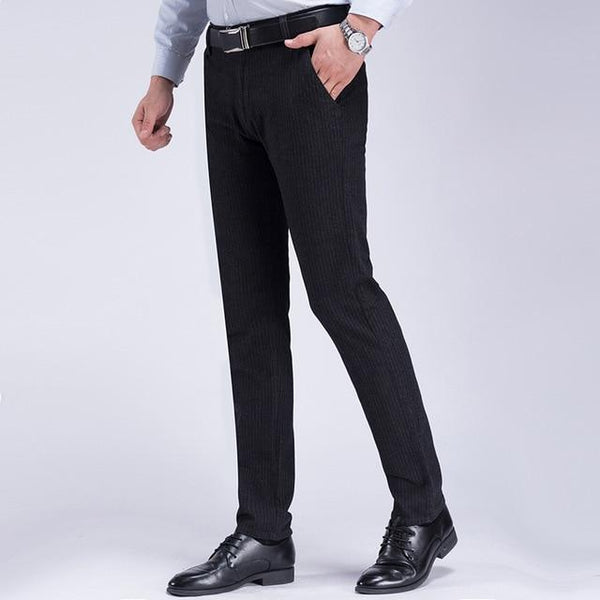 Striped Business Pants chrynne.com Men's Pants 31.99