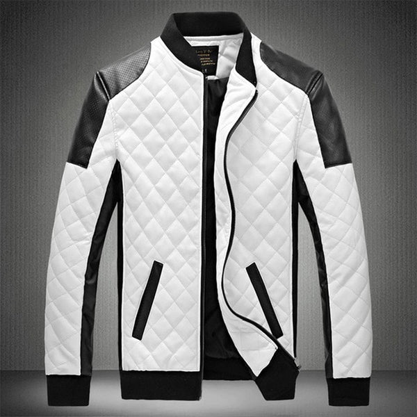 White Patchwork Jacket