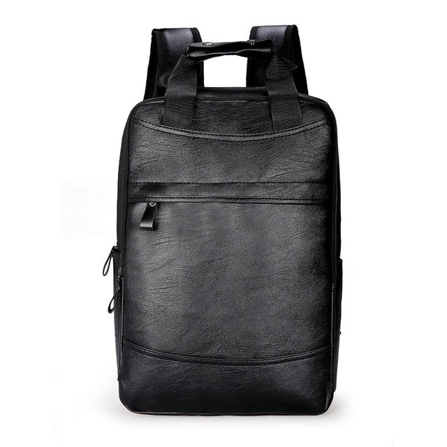 Black Waterproof Leather Bag