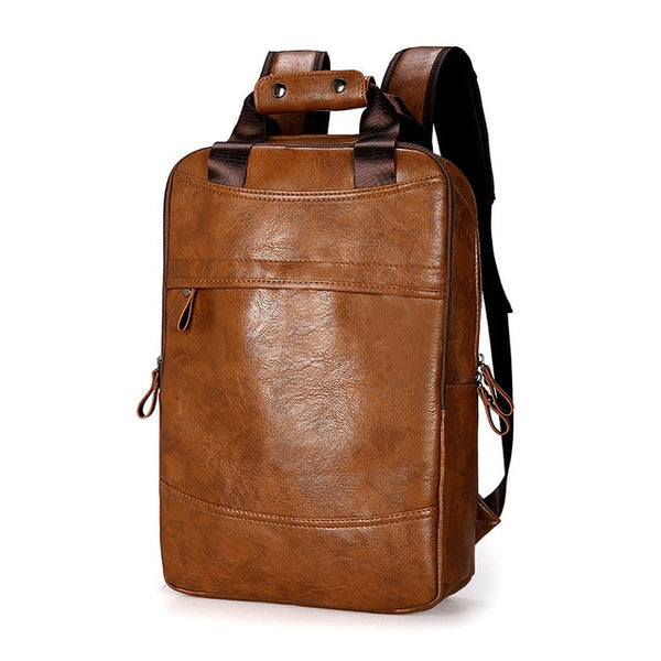 Brown Waterproof Leather Bag