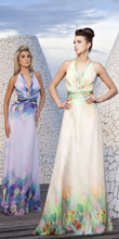 Load image into Gallery viewer, Tony Bowls Floral Chiffon Prom Dress 115519