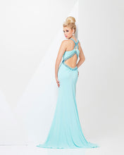 Load image into Gallery viewer, Tony Bowls Paris Jersey Backless Dress 115709 Coral