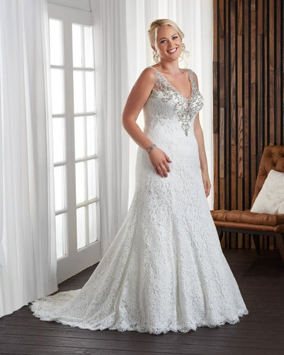 Bonny Bridal Wedding Gown 1707
