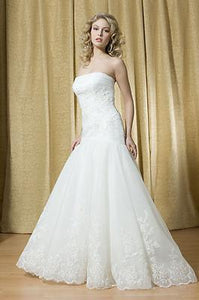 Alfred Sung Bridal Wedding Gown 6687