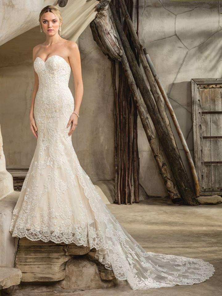Casablanca Bridal Wedding Gown 2292 Sedona