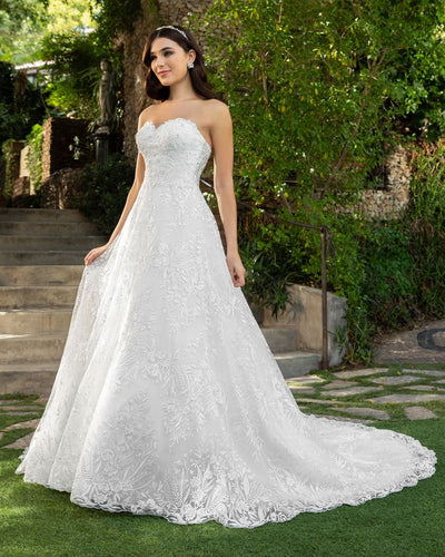 Casablanca Bridal Wedding Gown 2414 Reagan