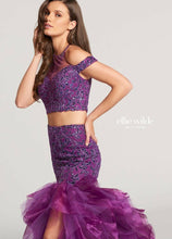 Load image into Gallery viewer, Ellie Wilde Grad Prom Dress EW118107 Purple