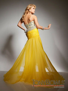 Tony Bowls Prom Dress TB2351323 Yellow