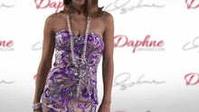 Load image into Gallery viewer, Riva Designs Strapless Sequin Prom Dress R9710 Lilac