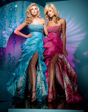 Load image into Gallery viewer, Tony Bowls Paris High Low Prom Dress 111762
