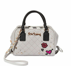 Betsey Johnson Peek A Boo Handbag - Grey