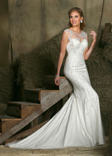 Da Vinci Bridal Wedding Dress 50324